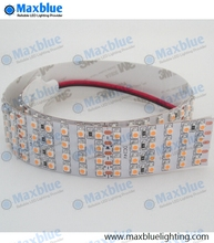 free shipping 5m/reel DC24V 3528 smd 480leds/m 2400leds in 4 rows led strip ribbon lights nonwaterproof