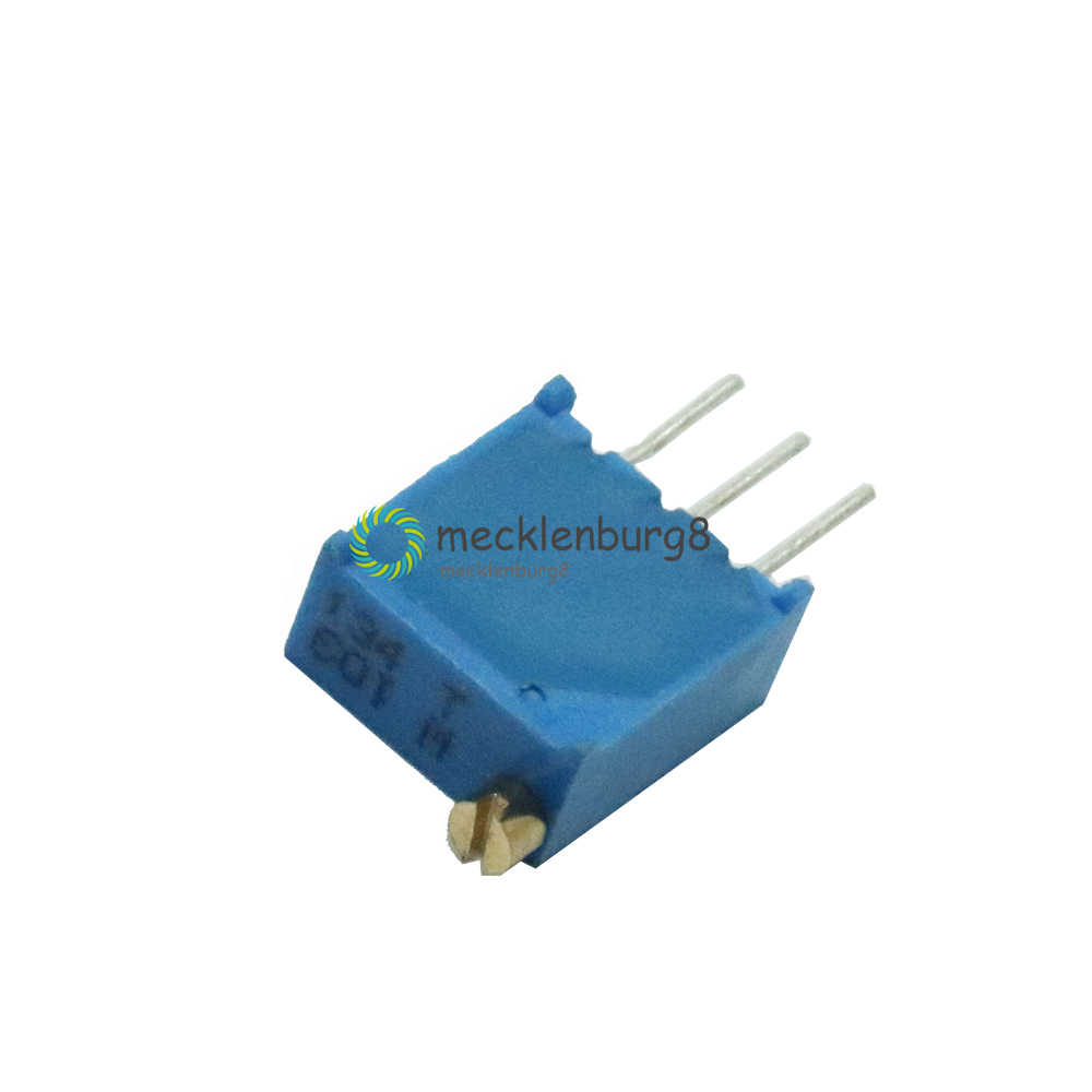 20Pcs 3296W-503 3296 W 50K Ohm Trim Pot Trimmer Potentiometer zk