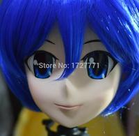 (KM9195)Super Quality Handmade Female Resin Full Head Mask Cosplay Japanese Anime Role Kigurumi Mask Handemade Crossdresser