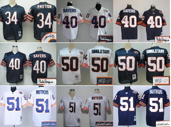 Chicago Bears Charles Leno GAME Jerseys