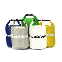 10L dry waterproof bag for canoe kayak and rafting sports camping equipment outdoor travel bag KQ0011