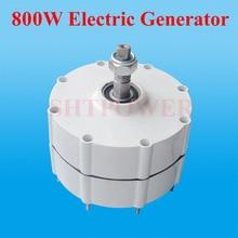 800 Вт 24 В или 48 В постоянный магнит генератор переменного тока генератора для вертикальной или горизонтальной ветродвигатель