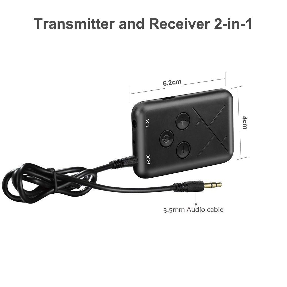 Unterhaltungselektronik Willensstark 2 In 1 Wireless Bluetooth Sender Empfänger Stereo 3,5mm Audio Musik Adapter
