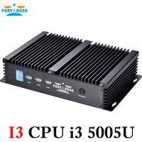 Mini Linux Embedded Cheap Fanless Mini Industrial Pc With Intel I3 4010u Processor 2 COM 4