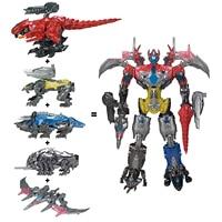 Action Figure Christmas Gifts Doll Toys Powe Ranger Combination Deformation Transformation Dinosaur Warrior Megazord