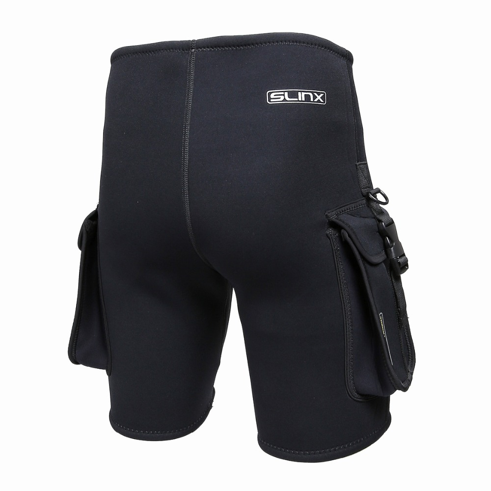 SLINX шорты для дайвинга 3 мм неопреновый гидрокостюм технологичные шорты для подводного плавания оборудование для подводного плавания шорты... - 3