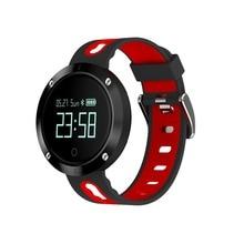 Новый volemer DM58 Bluetooth Спорт браслет сердечного ритма Смарт часы Приборы для измерения артериального давления Мониторы IP68 Водонепроницаемый для Android IOS Телефон