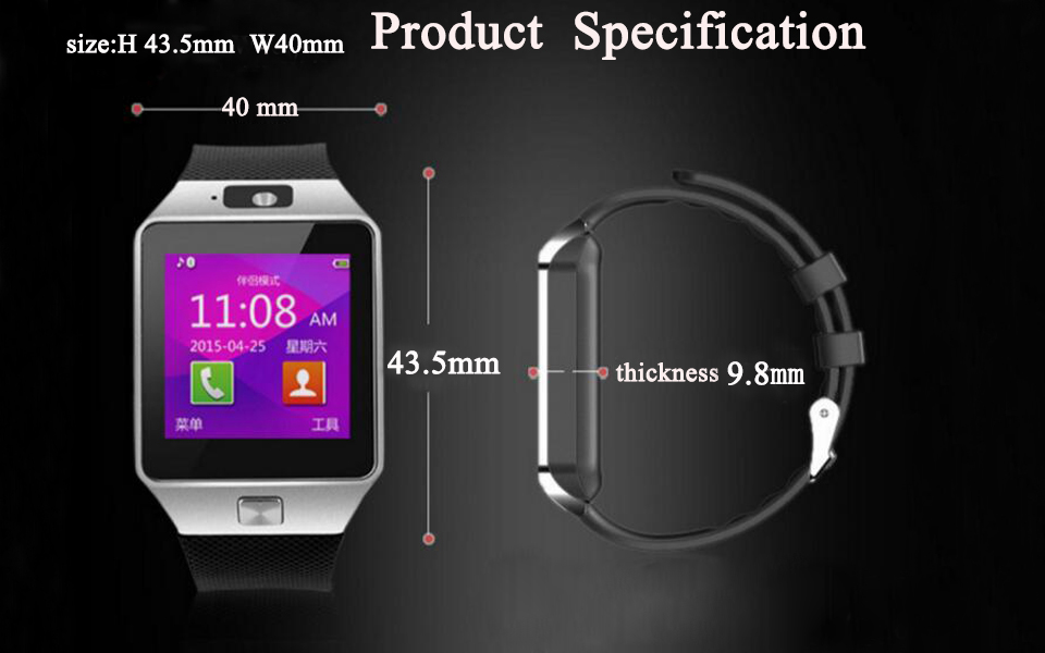 smartwatch android 11 camera watch