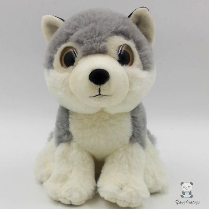 Cani Di Peluche Regali Di Compleanno Di Simulazione Bambola Giocattolo Per I Bambini Grandi Occhi Bambole Husky Di Buona Qualità