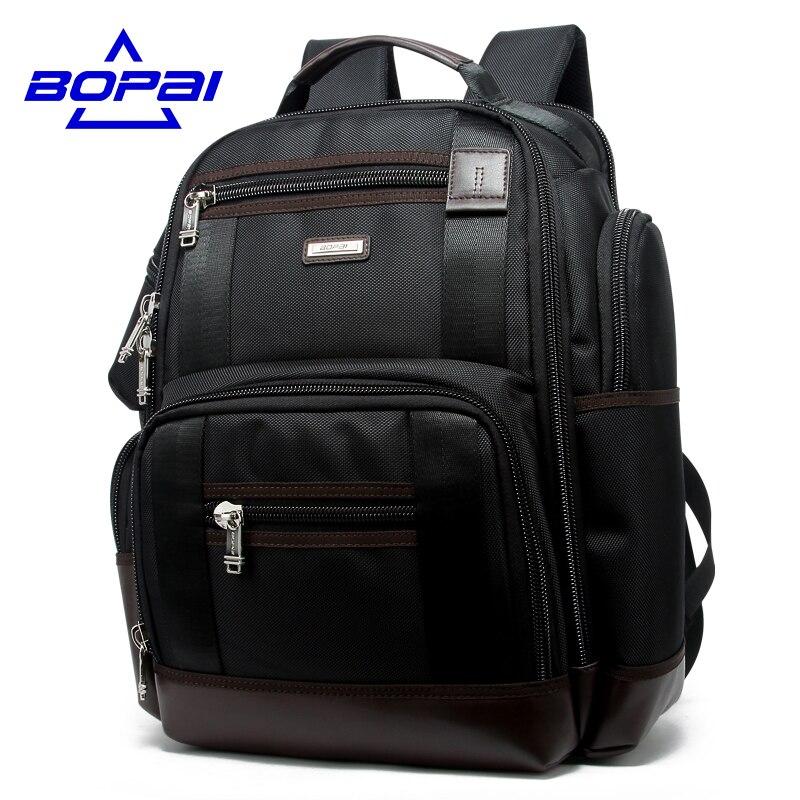Famous Brand Men Backpack Multi Pocket Travel Backpack Bag Black 14 Inch Computer Bag 15 Inch Laptop Bag Big Rucksack School Bag