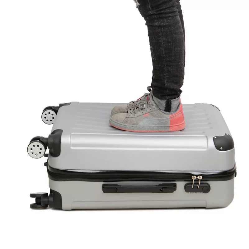 """20 """"24 インチ PC 漫画スポンジ旅行スーツケースホイールキャビントロリー荷物袋女性ローリング荷物素敵な道路スーツケース"""