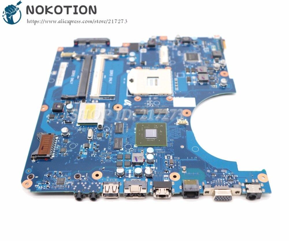 цена NOKOTION Brand New Laptop Motherboard For Samsung R580 MAIN BOARD BA41-01175A BA92-06130A BA92-06133A BA92-06133B HM55 GT330M