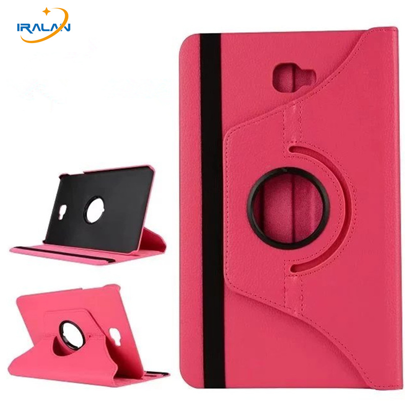 2017 New 360 Rotation Flip For Samsung Galaxy Tab A A6 10.1 2016 T580 T585 SM-T580N T585N Stand PU Leather Cover Funda+Pen+film аксессуар чехол samsung galaxy tab a 7 sm t285 sm t280 it baggage мультистенд black itssgta74 1