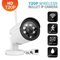 SANNCE 720P 1.0MP Outdoor Bullet IP Camera for Security Waterproof CCTV Surveillance