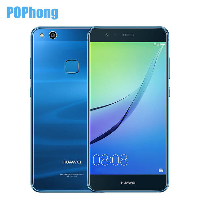 Original Huawei Nova Lite Smartphone 4GB RAM 64GB ROM Front/Back Camera Dual SIM Card Kirin 658 Octa Core 5.2 Inch