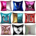 Creative Fashion New Pillow with sequins Multi-Color Sequin Pillow 40*40cm Pillow Home& Car& Decor lazyback