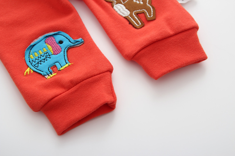 Casual Toddler Trousers Baby Bottoms Pants Infant Boys Girls Cartoon Cute elephant deer sports Pants baby clothes drop shipping (6)