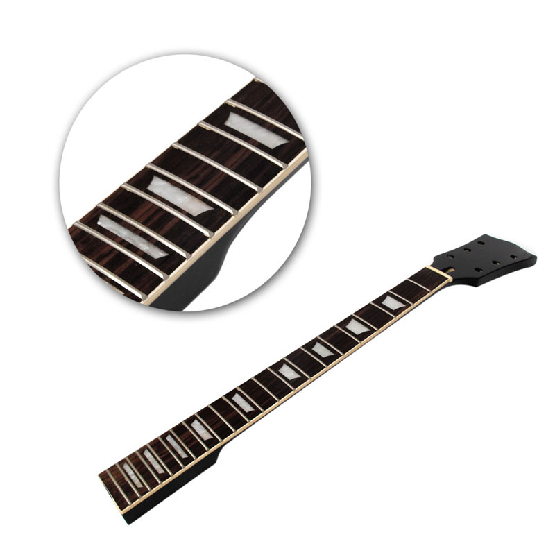 Sports & Entertainment 22 Frets Rosewood Fingerboard W/ Sector Binding Inlay Guitar Neck Replacement Diy Good Taste
