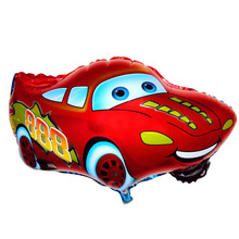 Aluminum Balloons Cartoon Toys Birthday-Party 1pcs Cars 25inch