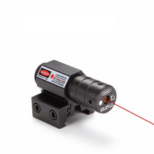 Tactical mini red laser sight scope riflescope for hunting air gun gunsight sniperscope