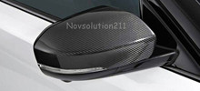 Real Carbon Fiber Rearview Mirror Cover For Land Rover Range Rover Sport 2014-2016