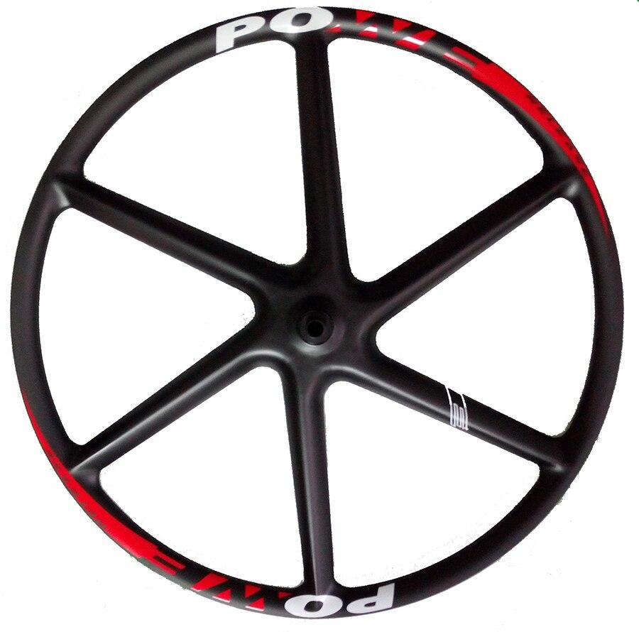 """Powerelease 6 spoke 29er hookless carbon wheels mountain bike wheel mtb 29 inch rim 29"""" wheelset 30mm clincher six spoke rims"""