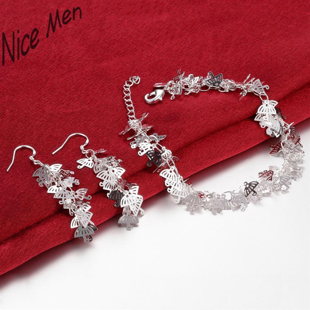 Lots of Umbrella charms chorker necklace earrings set S804 2015 bulk sale bridal party jewelry for seasons gifts