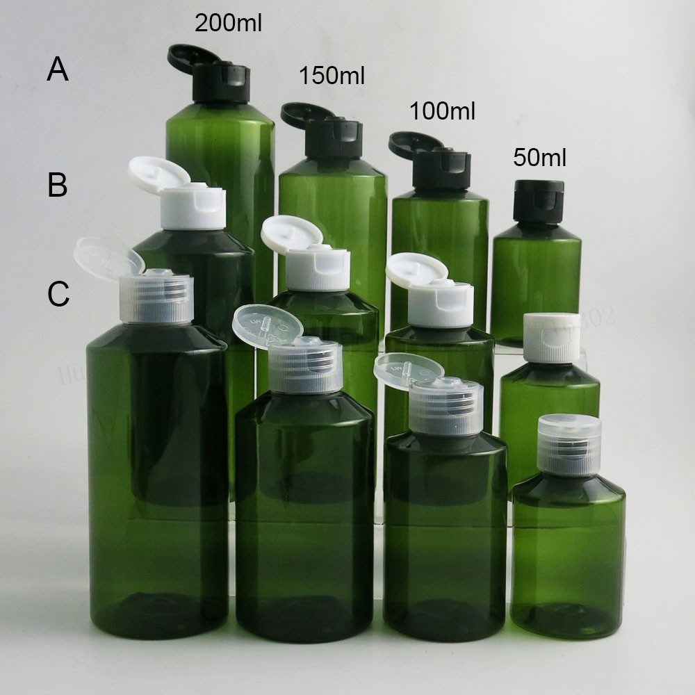Многоразовые пустые флаконы для ухода за кожей, 50 мл, 100 мл, 150 мл, 200 мл