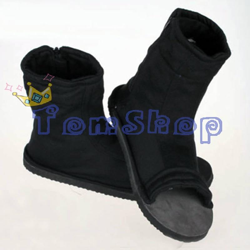 NARUTO Deidara Akatsuki Cosplay Kostüme Costume Schuhe Shoes boot Stiefel ninja
