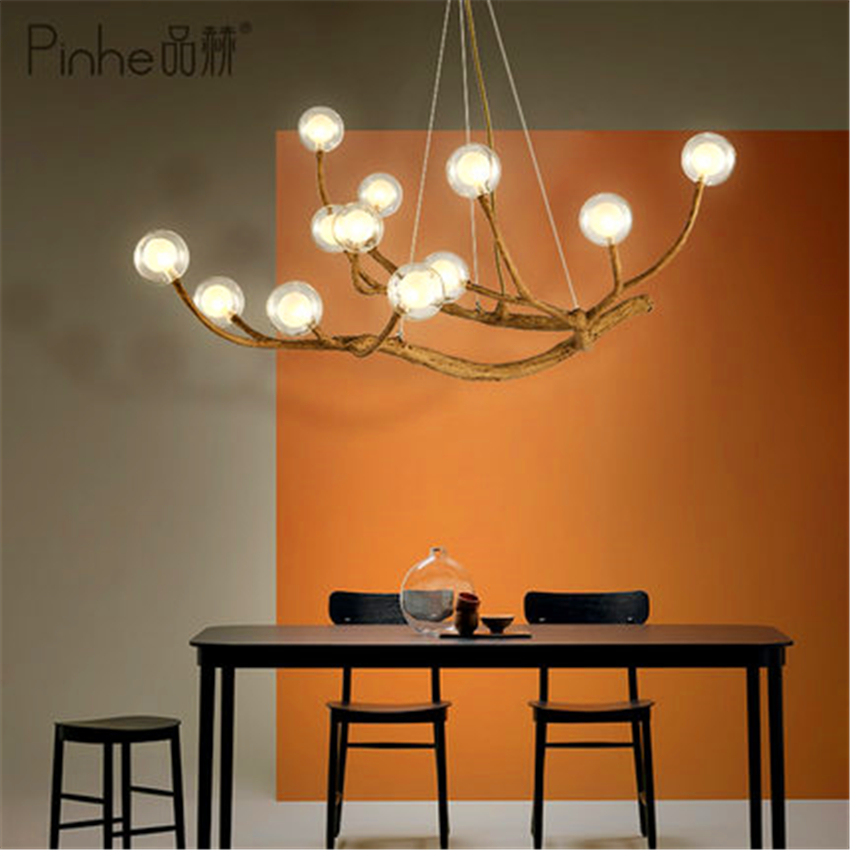 Nordic LED Pendant Light Lighting Design Light Glass Resin Branch Light Pendant Lamp Ceiling Lampara Lustre Art Kitchen FixturesNordic LED Pendant Light Lighting Design Light Glass Resin Branch Light Pendant Lamp Ceiling Lampara Lustre Art Kitchen Fixtures
