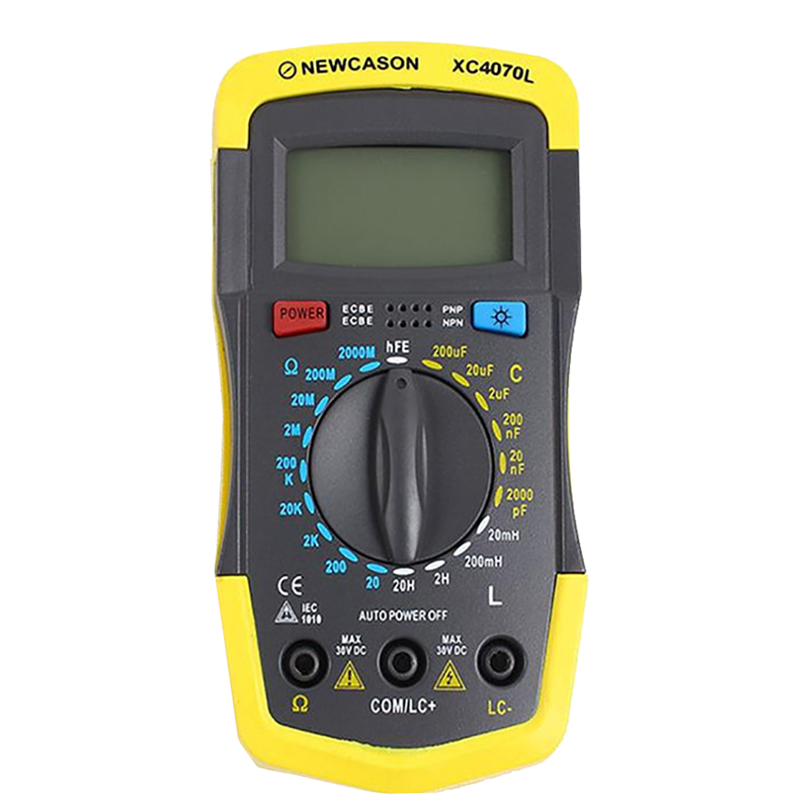 LCR, RCL Inductance, Resistance Capacitance Meter XC4070L Capacitor Tester Meter Resistance And Inductance Tester high precision digital capacitance inductance meter auto ranging component tester 500kh lc rc oscillation inductance multimeter