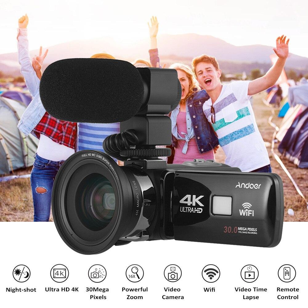 Andoer 4K Ultra HD WiFi 3.0