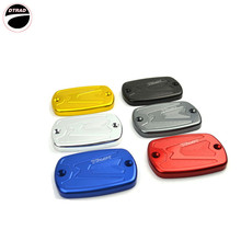 Pair Black Color Motorcycle accessories Motorbike Brake Fluid Tank Cap Cover For YAMAHA TMax 500 TMax 530 Six kinds of color