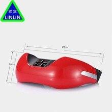 LINLIN беспроводной зарядный прибор для защиты глаз, 3D зеленый световой прибор для восстановления зрения, ЭМС импульсный массажер для глаз.
