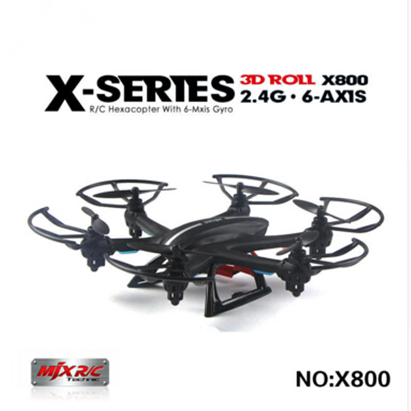 ФОТО MJX X800 /X800C 2.4G 6-Axis RC Drone Helicopter Can Add C4005 FPV HD Wifi Camera White & Black Syma X5SW X5C Free Shipping
