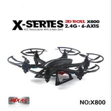 MJX X800/X800C 2.4G 6-Axis RC Drone Hélicoptère Peut Ajouter C4005 FPV HD Wifi Caméra Blanc & Noir Syma X5SW X5C Livraison gratuite