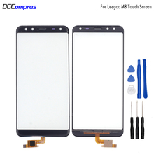 Original Touch Screen For Leagoo S8 Touch Panel Glass Replacement For Leagoo S8 pro Touch Panel Free Tools touch panel original for gt gunze usp 4 484 038 g 28 for touch membrane screen touch pad
