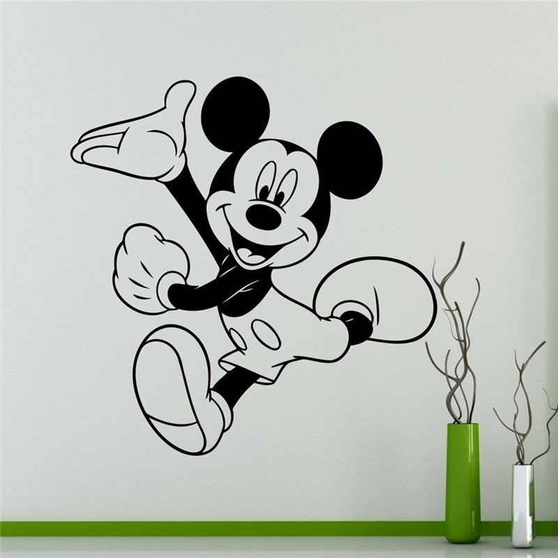 Mickey Mouse Wall Decal Cartoon Vinyl Sticker Wall Art Decor Children s  Kids Room Ideas Room Interior. High Quality Mickey Mouse Wall Art Buy Cheap Mickey Mouse Wall Art
