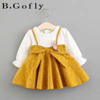 0 3 years Kids Fashion Clothes Newborn Baby Party Long Sleeve Animal Infant Little Toddler Girls Princess Dress Children