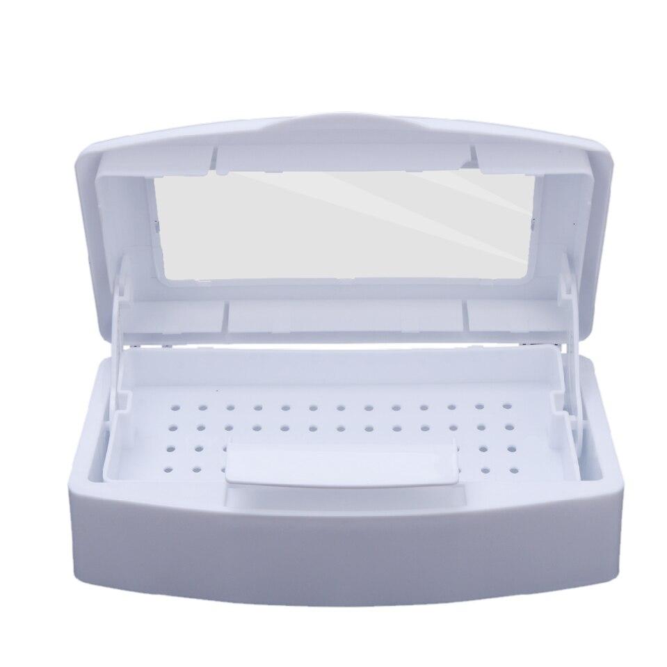 Pro Nail Sterilisator Desinfektion Box Salon Nagelzange Pinzette Metall Werkzeuge Desinfektions Sanitizer Box Nagel Maniküre Maschine Set