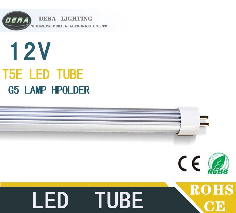 25/50 шт. T5 1FT 4 Вт <font><b>LED</b></font> Light <font><b>Tube</b></font> <font><b>G5</b></font> DC12V 300 мм встроенный драйвер Флуоресцентные Замена трубы Лампа Холодный белый 0.3 м