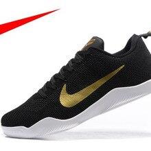 f3b860cdaad4 New Arrival Original Nike Kobe 11 Elite Low knit Men s Basketball Shoes