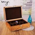 Erizo de Sándalo de palo de rosa Caja de Reloj Caja de Madera caja de Almacenamiento Caja de Colección de Relojes Mecánicos