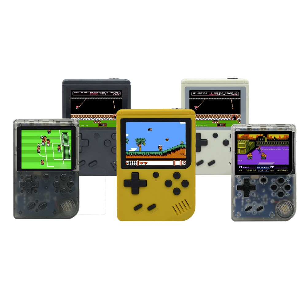 Image 4 - Mini retro classic game handheld video 168 game console 3 inch 8 bit gaming console with 168 free games-in Handheld Game Players from Consumer Electronics