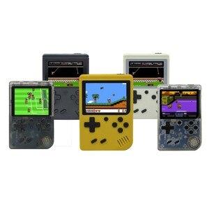 Image 4 - Mini retro klasik oyun el video 168 oyun konsolu 3 inç 8 bit oyun konsolu ile 168 ücretsiz oyunlar