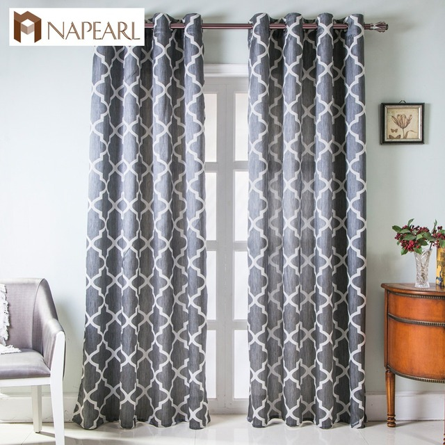 grommet kitchen curtains outdoor grill modern curtain living room window short ready made treatments top semi blackout bedroom