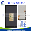 """For HTC One M7 4.7"""" LCD Display With Touch Screen Digitizer Assembly Dual SIM 802w 802d 802t Replacement Parts+Tools"""