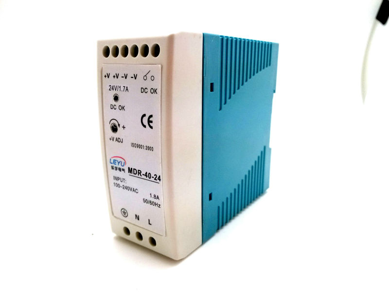 LED driver 12v ac dc 40w single output support Din rail switching power supply mdr 40 12 single output micro volume 12v ac dc 40w din rail 42w switching model power supply 12v