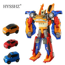 Tobot Robot 3 in 1 Transformation Toys Deformation Action Figure Merge Car Children Cartoon Animation Model Set(China)