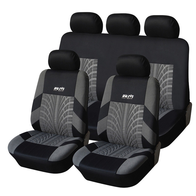 Car Seat Cover Polyester Fabric Universal Car-Covers Car Styling Covers Support For Car Seats Protector Interior Accessories